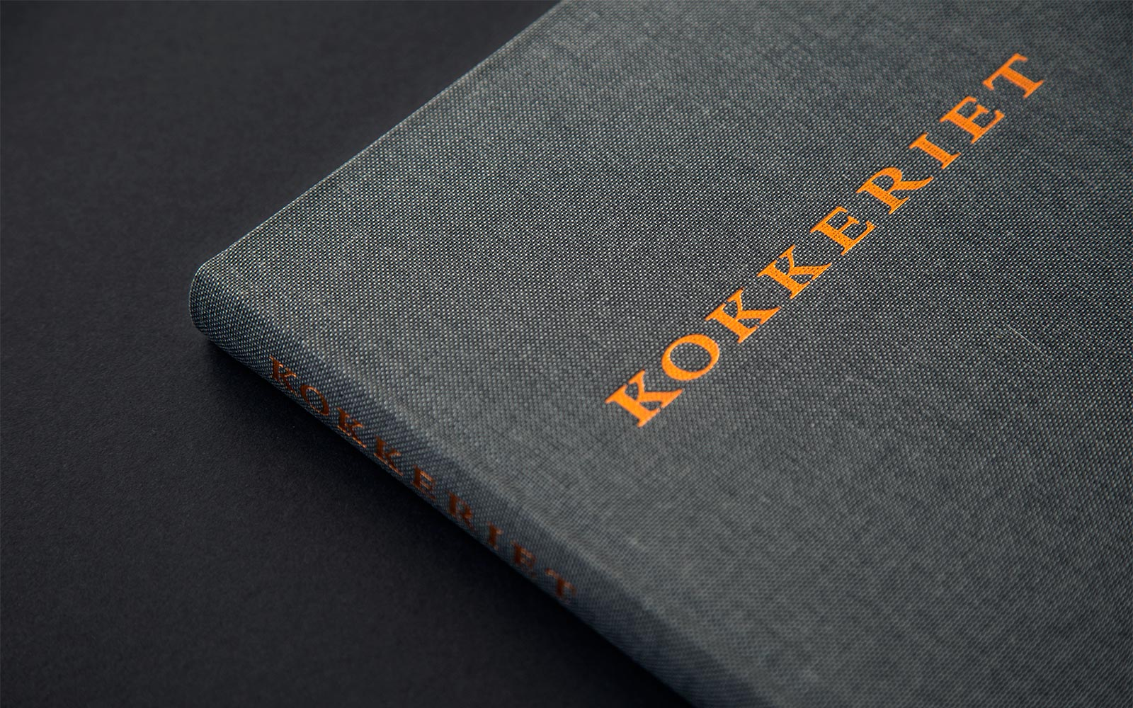 The cover of the cookbook Kokkeriet - The Danish Flavor in Our Kitchen