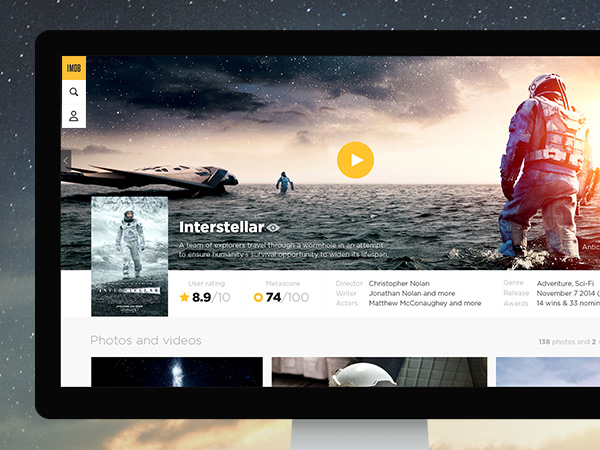 Rethink IMDb - a complete redesign of the world's largest online movie database