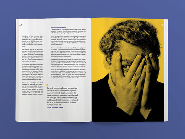 Tears Behind the Smile - a magazine feature about Denmark's most prolific actor, Dirch Passer